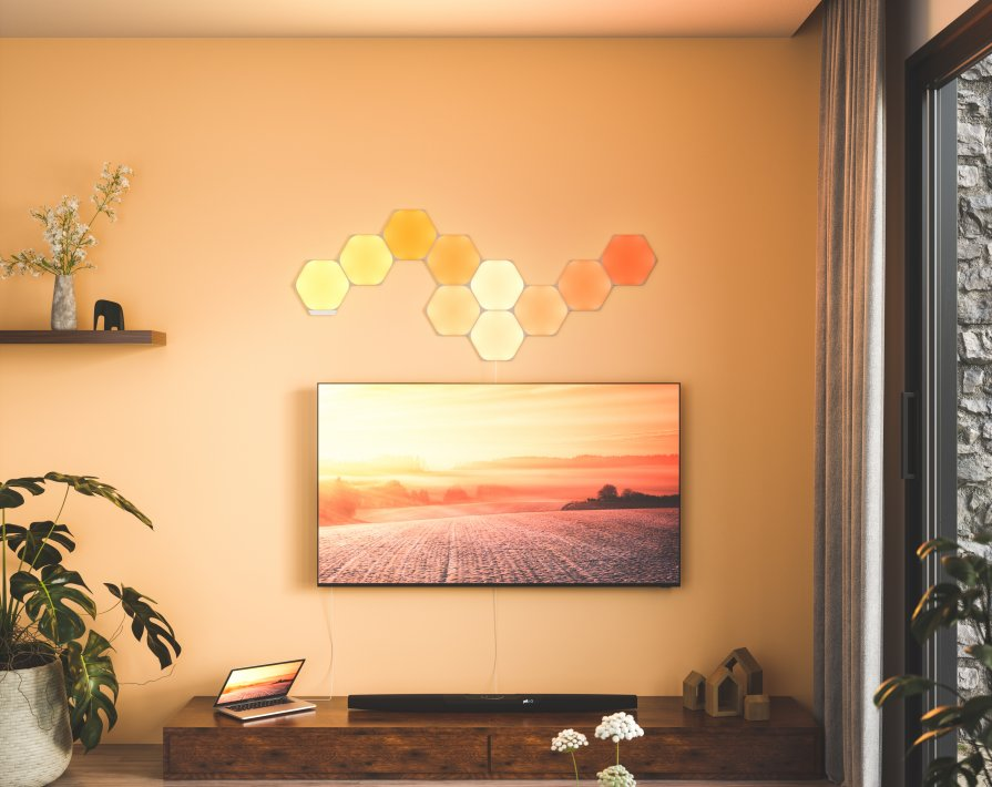 Nanoleaf Hexagons panele świetlne